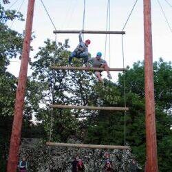 Errichtung und Einweihung der Jakobsleiter 2009