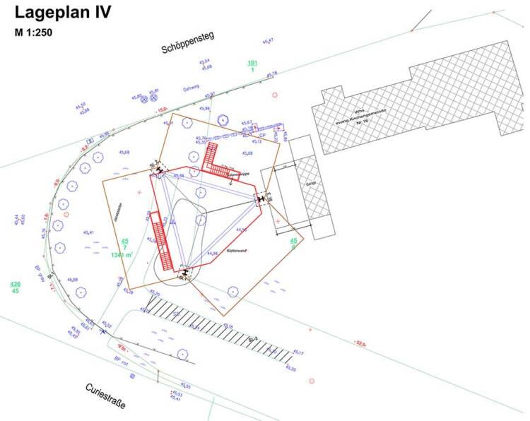 Lageplan Kletterkirche